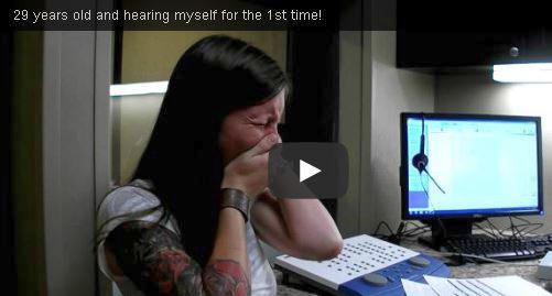 DeafWomanHearsVoiceFirstTime