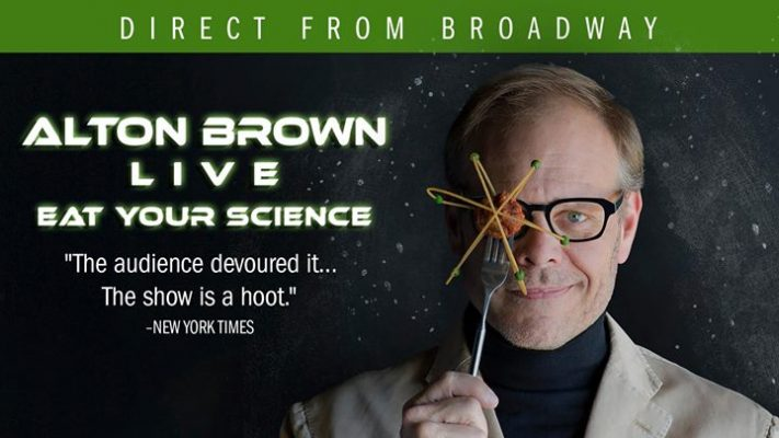 Alton Brown Live: Eat Your Science @ Center for the Arts, University at Buffalo | Buffalo | NY | United States