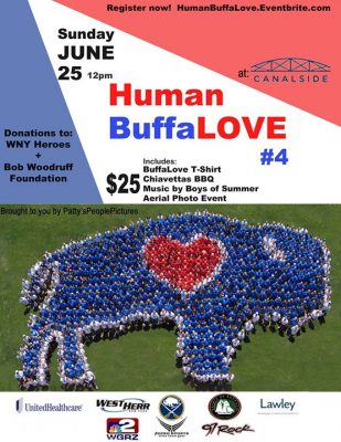 Human BuffaLove #4 @ Canalside Buffalo | Buffalo | NY | United States