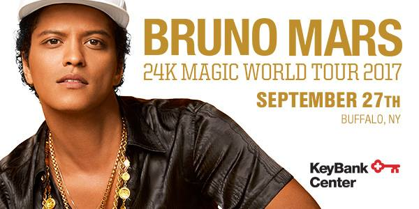 Bruno Mars | KeyBank Center @ KeyBank Center | Buffalo | NY | United States