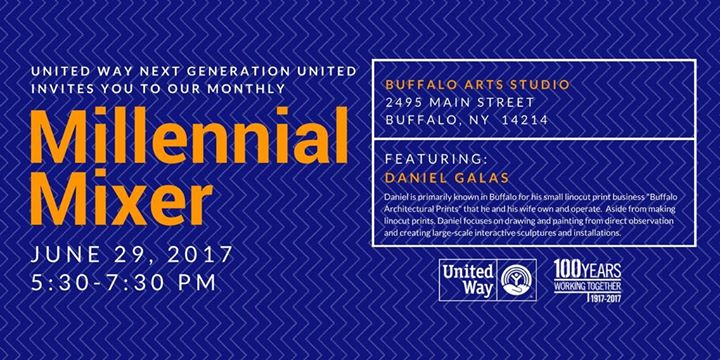 Millennial Mixer - June @ Buffalo Arts Studio | Buffalo | NY | United States