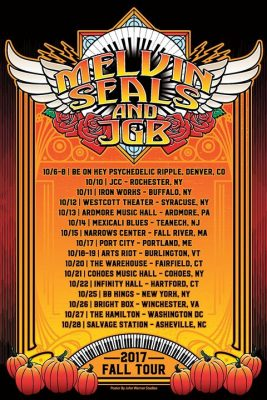 Tonight! Melvin Seals & JGB at Buffalo Iron Works - OCT 11th @ Buffalo Iron Works | Buffalo | NY | United States