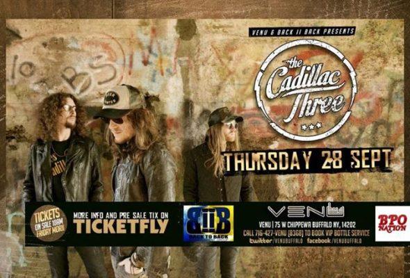 The Cadillac Three at VENU - 09.28.17 - Buffalo, NY @ VENU | Buffalo | NY | United States