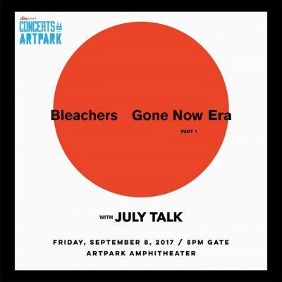 Coors Light Concert Series at Artpark presents Bleachers @ Artpark   Lewiston   NY   United States