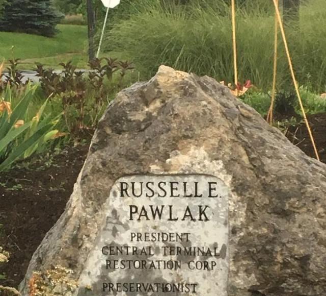 Russell E. Pawlak Memorial Gardens at Memorial and Paderewski Drives