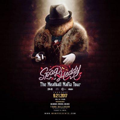 Spag Heddy #MeatballMafia Tour . 9/21 at Town Ballroom @ Town Ballroom | Buffalo | NY | United States