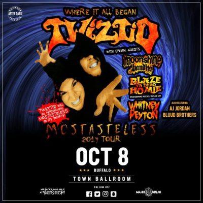 This Sunday - Twiztid - Oct 8 at Town Ballroom @ Town Ballroom | Buffalo | NY | United States