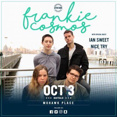 New Venue - Frankie Cosmos - Oct 3 at Mohawk Place @ Mohawk Place | Buffalo | NY | United States