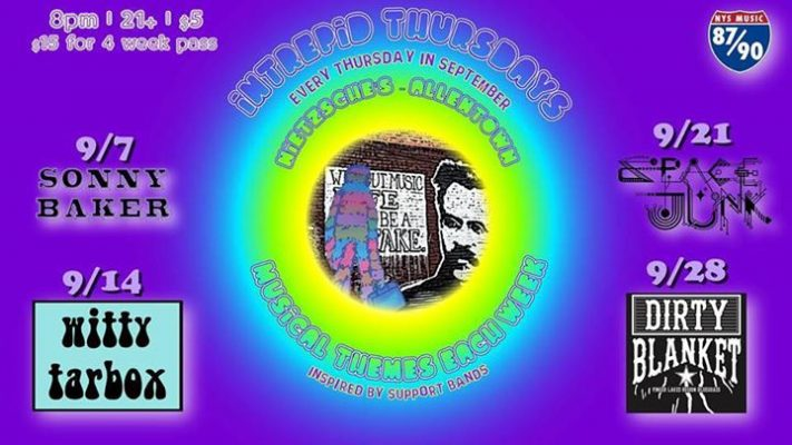 Intrepid Thursdays Week 2: Witty Tarbox, Presented by NYS Music @ Nietzsche's | Buffalo | NY | United States