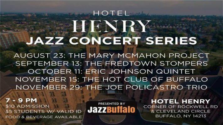 Hotel Henry Jazz Concert Series: JazzBuffalo Presents Joe Policastro Trio @ Hotel Henry Urban Resort Conference Center   Buffalo   NY   United States