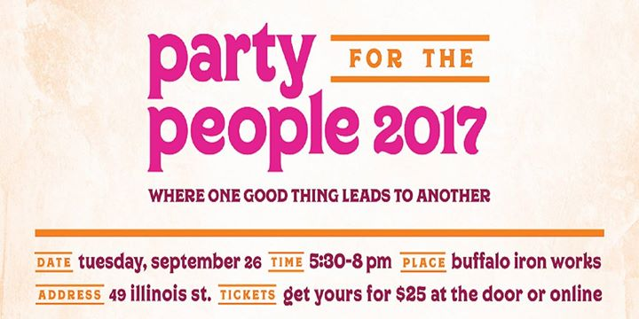 8th Annual Party for the People! @ Buffalo Iron Works   Buffalo   NY   United States