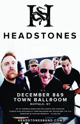 Headstones TWO DAY PASS Dec. 8 & 9 at Town Ballroom @ Town Ballroom | Buffalo | NY | United States