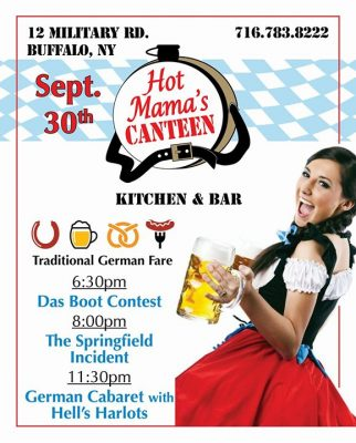 Hot Mama's Black Rock Riverside Oktoberfest @ Hot Mama's Canteen | Buffalo | NY | United States