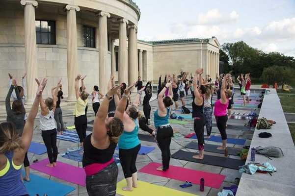 Sunrise Yoga at the AK @ Albright-Knox Art Gallery | Buffalo | NY | United States