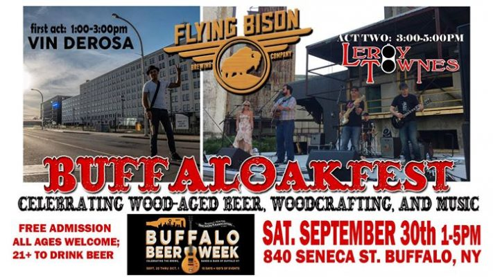 BUFFALOakfest at Flying Bison @ Flying Bison Brewing Company | Buffalo | NY | United States