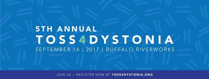 5th Annual Toss4Dystonia @ Buffalo RiverWorks   Buffalo   NY   United States