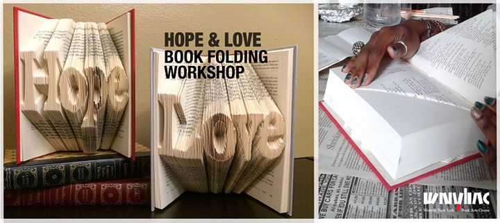 Book Folding Workshop - Hope & Love @ Western New York Book Arts Center | Buffalo | NY | United States