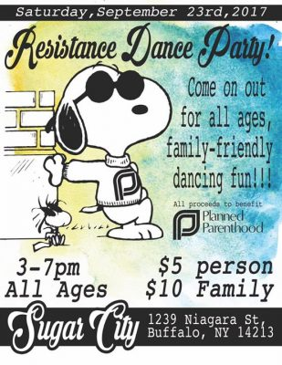 Resistance Dance Party @ Sugar City | Buffalo | NY | United States