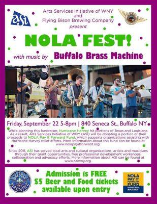 NOLA FEST @ Flying Bison Brewing Company   Buffalo   NY   United States