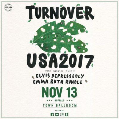 Turnover - Nov 13 at Town Ballroom @ Town Ballroom | Buffalo | NY | United States