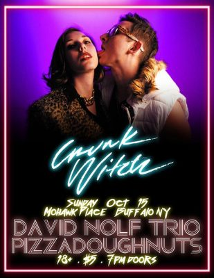 Crunk Witch / Fawn / David Nolf Trio / PizzaDoughnuts @ Mohawk Place | Buffalo | NY | United States