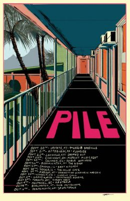 Pile, Be Locust Or Alone, Hot Tip in the 9th Ward @ Babeville | Buffalo | NY | United States