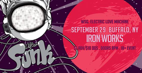 Tonight! After Funk & ELM at Buffalo Iron Works - SEPT 29 @ Buffalo Iron Works | Buffalo | NY | United States