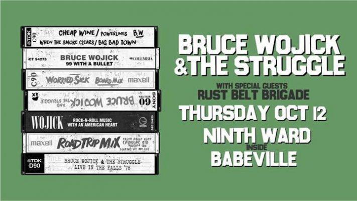 Bruce Wojick and the Struggle, Rust Belt Brigade @ Babeville | Buffalo | NY | United States