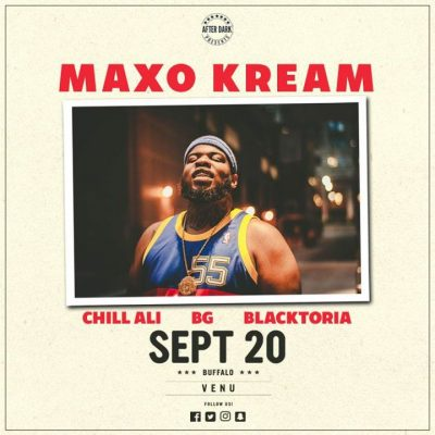 This Wednesday - Maxo Kream - Sept 20 at VENU @ VENU | Buffalo | NY | United States