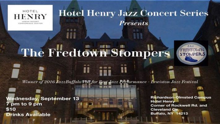 Hotel Henry Jazz Concert Series: JazzBuffalo Presents Fredtown Stompers @ Hotel Henry Urban Resort Conference Center | Buffalo | NY | United States