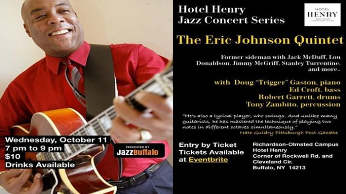 Hotel Henry Jazz Concert Series: JazzBuffalo Presents Eric Johnson Quintet @ Hotel Henry Urban Resort Conference Center | Buffalo | NY | United States