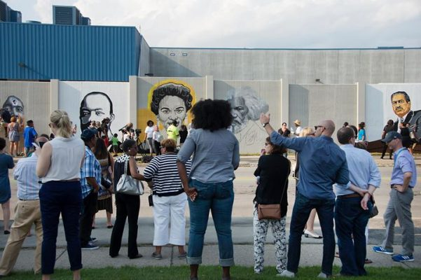 Community Celebration at The Freedom Wall @ Buffalo Academy for Visual and Performing Arts - BAVPA | Buffalo | NY | United States