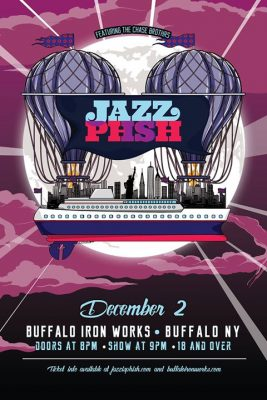 Jazz Is PHSH in Buffalo NY @ Buffalo Iron Works | Buffalo | NY | United States