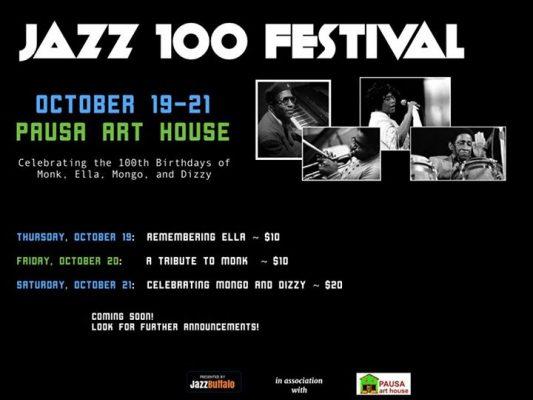 JazzBuffalo Presents: Soul Jazz @ Pausa Art House   Buffalo   NY   United States
