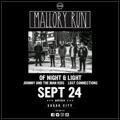 This Sunday - Mallory Run - Sept 24 at Sugar City @ Sugar City | Buffalo | NY | United States