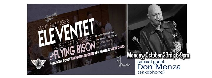 Mark Filsinger Eleventet w/ guest Don Menza at Flying Bison @ Flying Bison Brewing Company | Buffalo | NY | United States