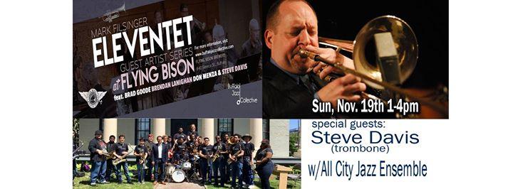 Mark Filsinger Eleventet w/ Steve Davis & All City Jazz Ensemble @ Flying Bison Brewing Company | Buffalo | NY | United States