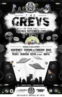 Frosty Tone presents the Greys at DBGB @ Duke's Bohemian Grove Bar | Buffalo | NY | United States