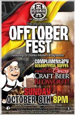 Annual Offtoberfest Buffet and DJs @ Duke's Bohemian Grove Bar | Buffalo | NY | United States