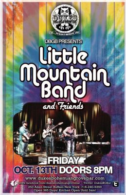 Little Mountain Band with Cypher and Carmen & Lizzy at DBGB @ Duke's Bohemian Grove Bar | Buffalo | NY | United States