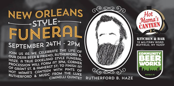Buffalo Beer Week Event: The Wake of Rutherford B. Haze @ Hot Mama's Canteen | Buffalo | NY | United States