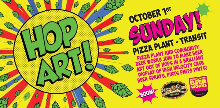Buffalo Beer Week Event: Hop Art at Pizza Plant @ Pizza Plant Italian Pub - Williamsville | Williamsville | NY | United States