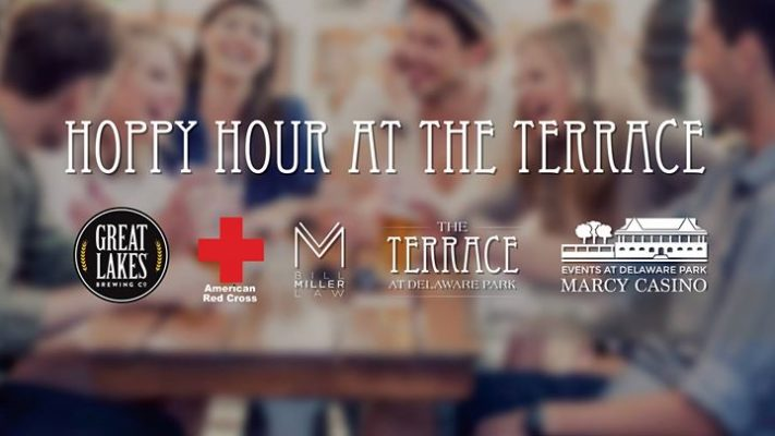 Hoppy Hour for American Red Cross with Great Lakes Brewing Co @ The Terrace at Delaware Park | Buffalo | NY | United States