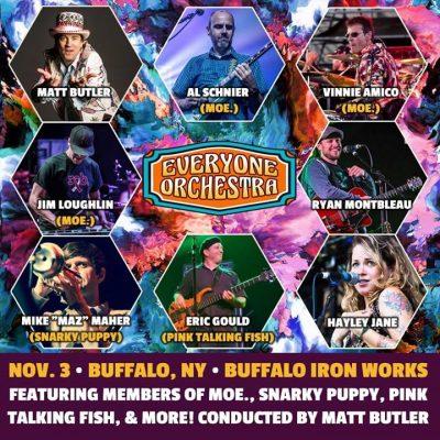 Everyone Orchestra w/ Litz at Buffalo Iron Works - NOV 3RD @ Buffalo Iron Works | Buffalo | NY | United States