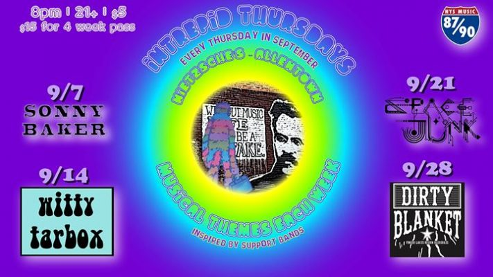 Intrepid Thursdays Week 3: Space Junk, Presented by NYS Music @ Nietzsche's | Buffalo | NY | United States