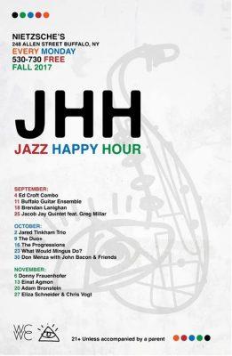 Jacob Jay Quintet feat Greg Millar at Nietzche's Jazz Happy Hour @ Nietzsche's   Buffalo   NY   United States