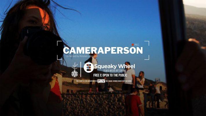 Cameraperson by Kirsten Johnson (Cinema Eye Honors Award winner) @ Squeaky Wheel Film & Media Art Center | Buffalo | NY | United States