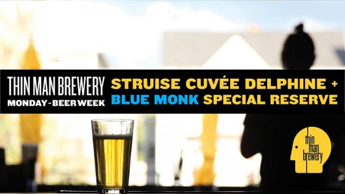 Struise Cuvée Delphine and Blue Monk Reserve at Thin Man Brewery @ Thin Man Brewery | Buffalo | NY | United States