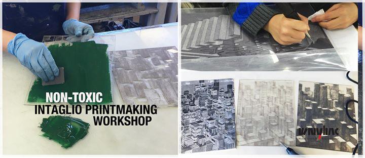Non-Toxic Intaglio Printmaking Workshop @ Western New York Book Arts Center | Buffalo | NY | United States