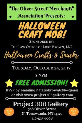 October NT Craft Mob at Project 308 Gallery! @ Project 308 Gallery | North Tonawanda | NY | United States